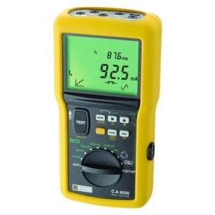 Chauvin Arnoux C.A 6030 Измеритель параметров УЗО, напряжения прикосновения  и петли
