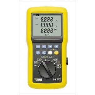 C.A 8220 Однофазный недорогой анализатор качества питания начального уровня