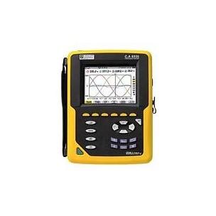 C.A 8335 QUALISTAR PLUS Новый анализатор параметров электросетей, качества и количества электроэнергии