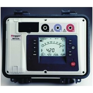Megger MIT520 and MIT1020 Diagnostic insulation resistance tester 5kV (10kV)