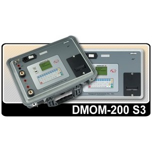 DMOM-200 200А микроомметр, измеритель сопротивления контактов