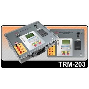TRM-203 20А,  специализированный 3х фазный измеритель сопротивления обмоток трансформаторов, тестированя РПН