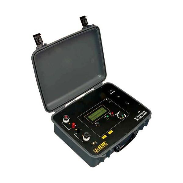 Fluke Micro Ohmmeter : Ca dc micro ohmmeter megatester